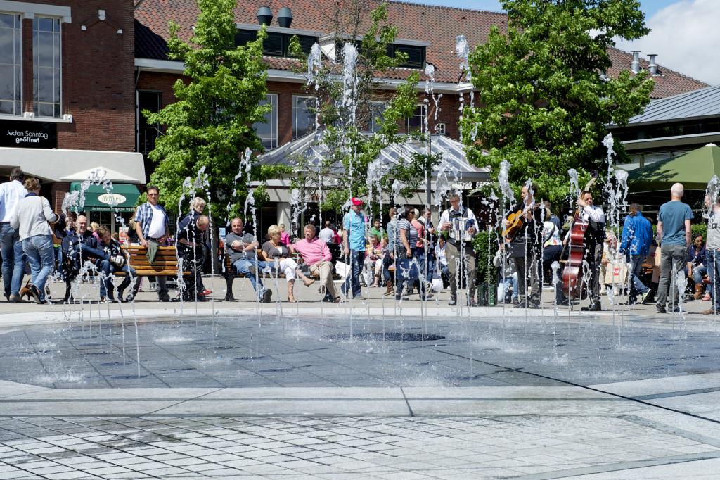 onthulling nieuwe fontein DOC Roermond