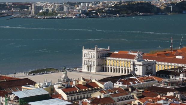 Liboa vista do Castelo de São Jorge